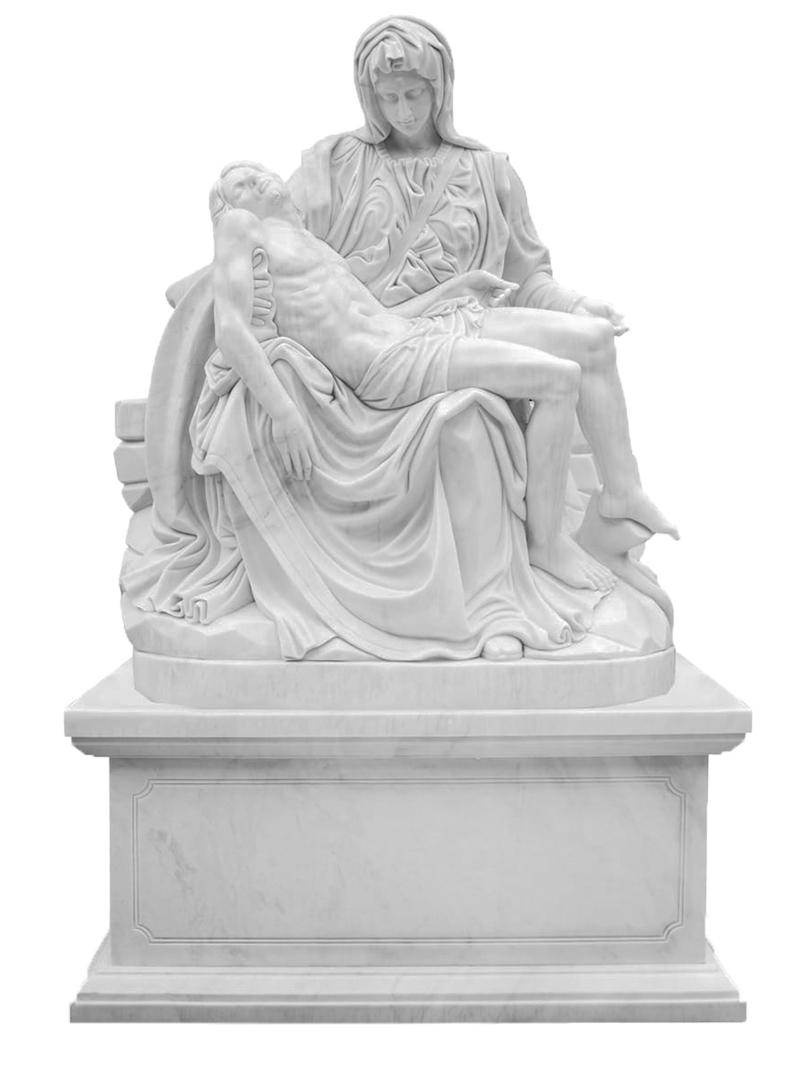 Figury z marmuru - Pieta